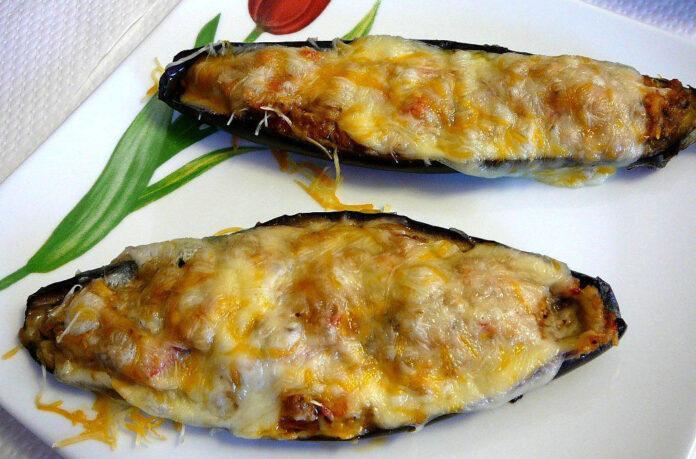 berenjenas rellenas pollo queso 1
