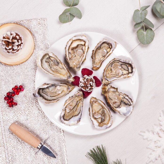 brochetas de ostras