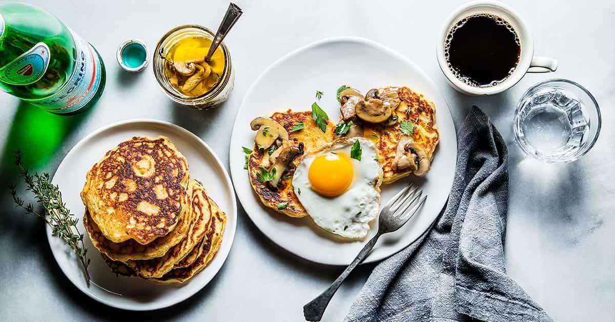 meriendas con huevos