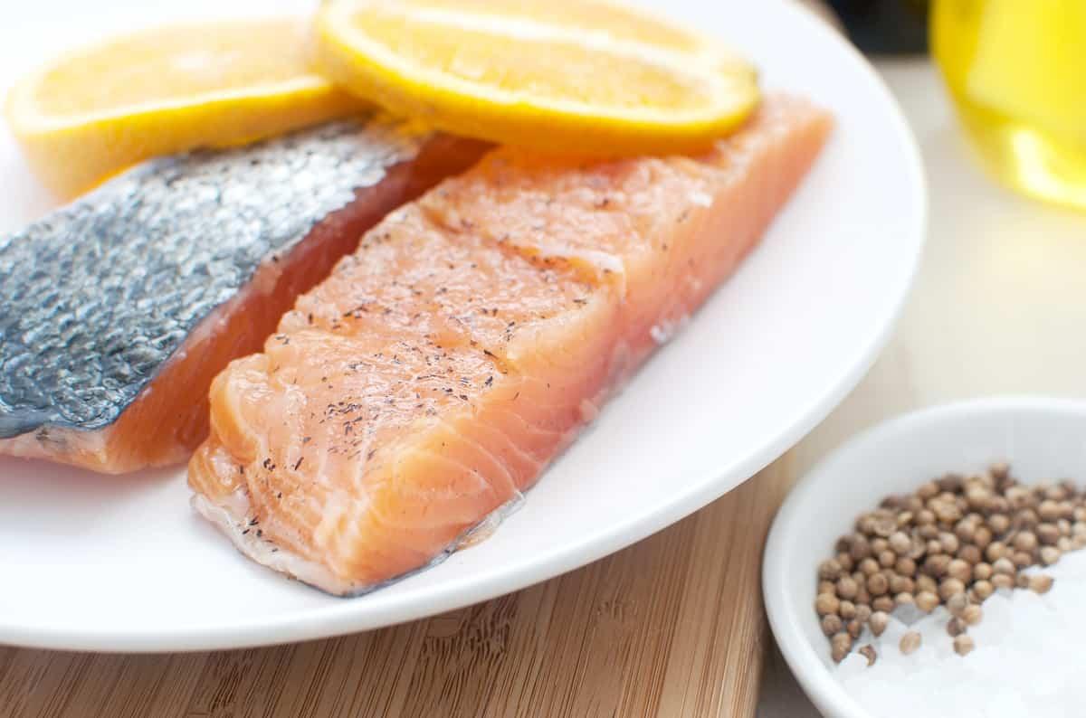 salmon a la sal