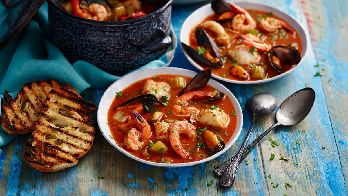 platos con pescado