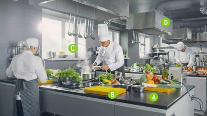 cocina seguras y saludables