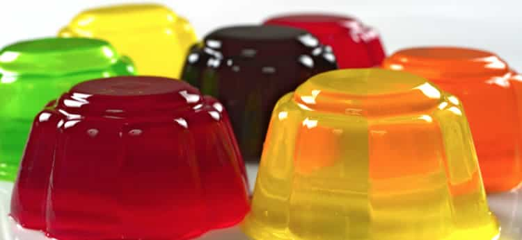 gelatinas colores
